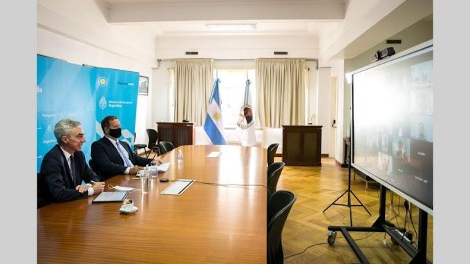 """Primer encuentro del Consejo Federal Portuario: """"Mantener operativo el puerto ha sido el primer desafío por la pandemia"""""""