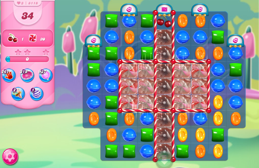Candy Crush Saga level 8118