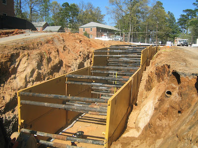 Excavation Safety Shoring