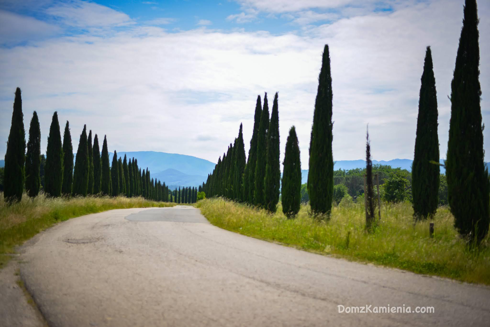 Dom z Kamienia blog, wakacje w Toskanii