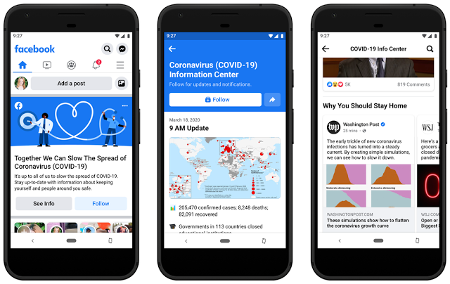 Facebook Adds COVID -19 News stream for knowledge panel #Article