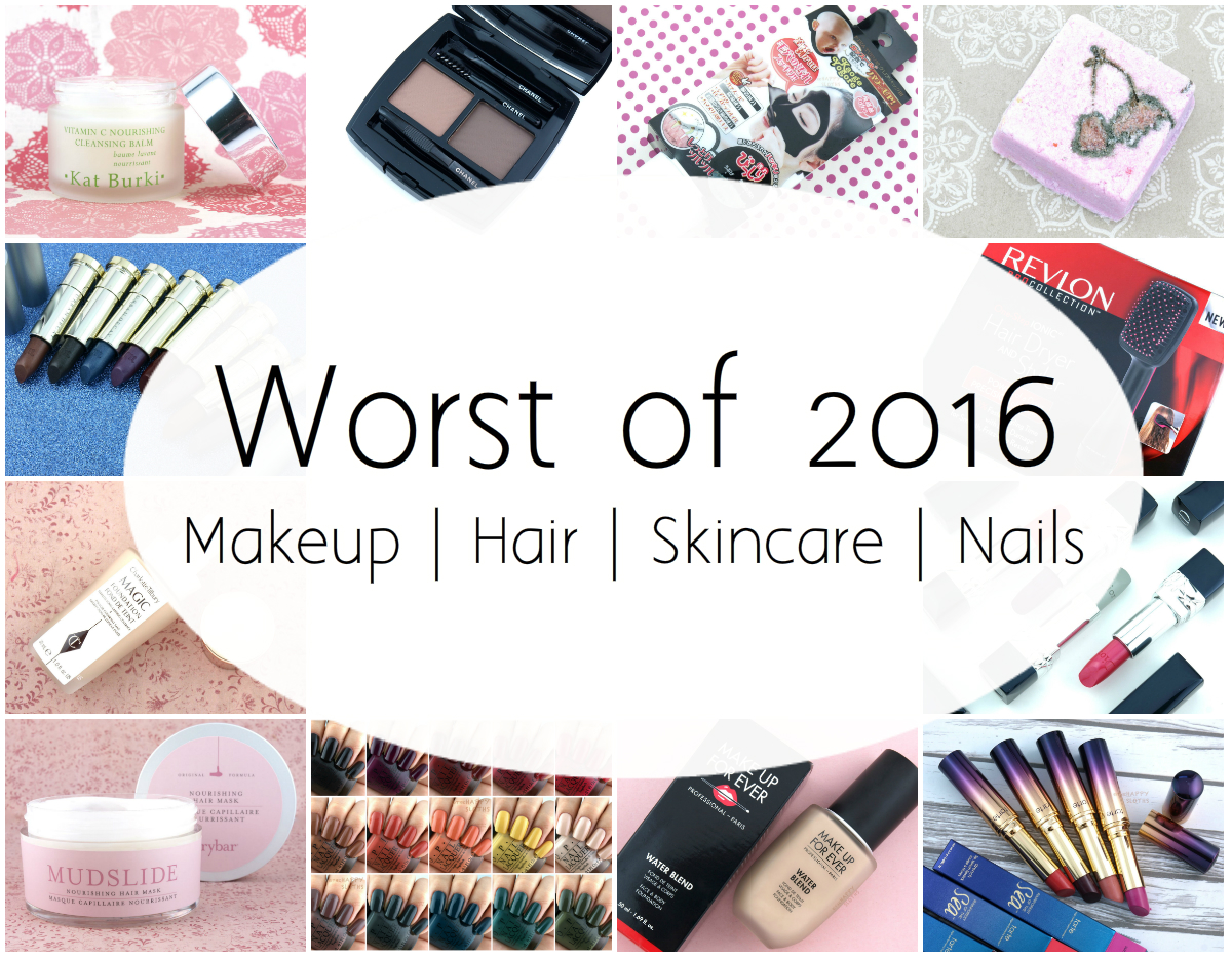 Worst of 2016 | My Least Favorite Products