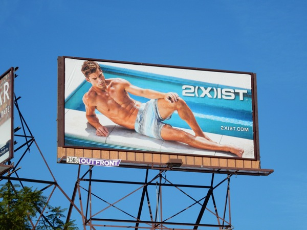 2Xist 2015 swimwear billboard