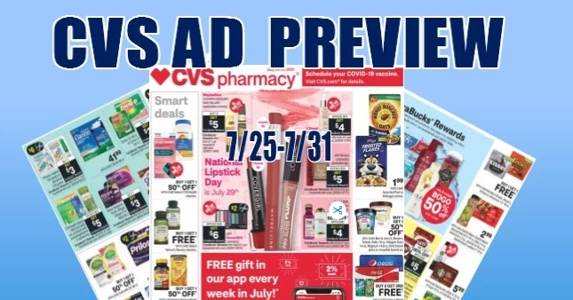 CVS Ad Preview 7-25 to 7-31