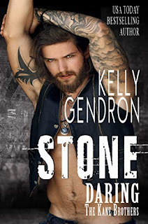 STONE (Daring the Kane Brothers) - a steamy standalone contemporary romance by Kelly Gendron