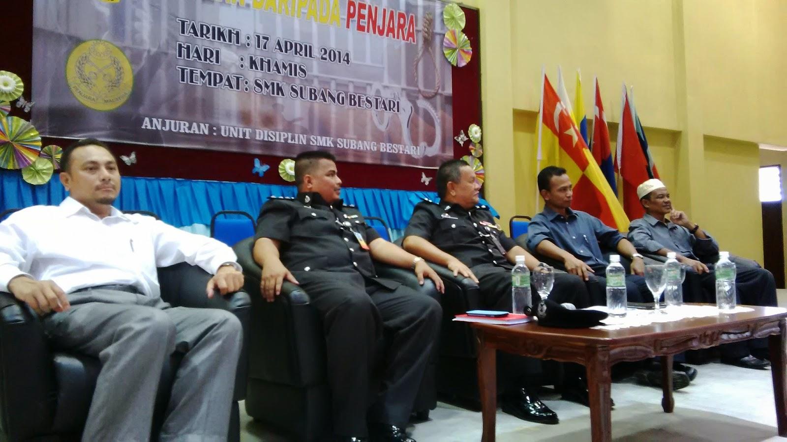 SMK Subang Bestari, Shah Alam, Selangor, PP Muhammad Nazri Nasaruddin, Parol Negeri Selangor.