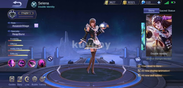 Download Script Skin Starlight Selena Mobile Legends Gratis