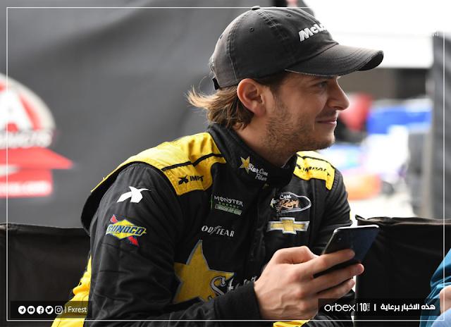 سائق ناسكار NASCAR  لاندون كاسيل Landon Cassill يقرر أخذ راتبه بالعملة المشفرة