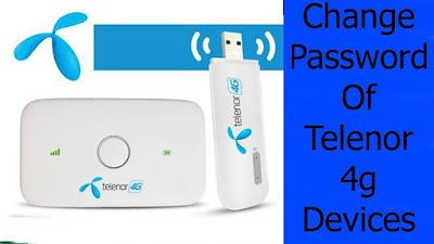 Telenor Device Password Change - How to Reset Telenor Wingle Mifi Device