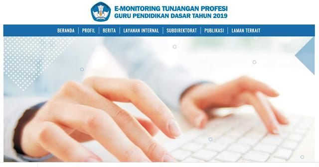 Download Manual Instrumen Monitoring dan Evaluasi Tunjangan Profesi Guru SD/SDLB dan SMP/SMPLB