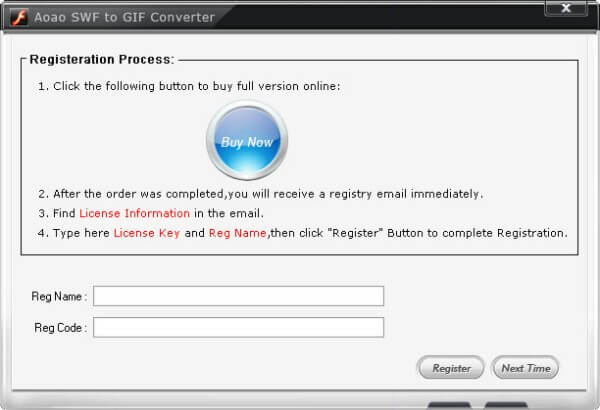 برنامج تحويل ملفات SWF اليGIF مجانا