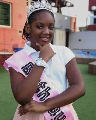 See what a Nigerian said about 2face idibia's Daughter