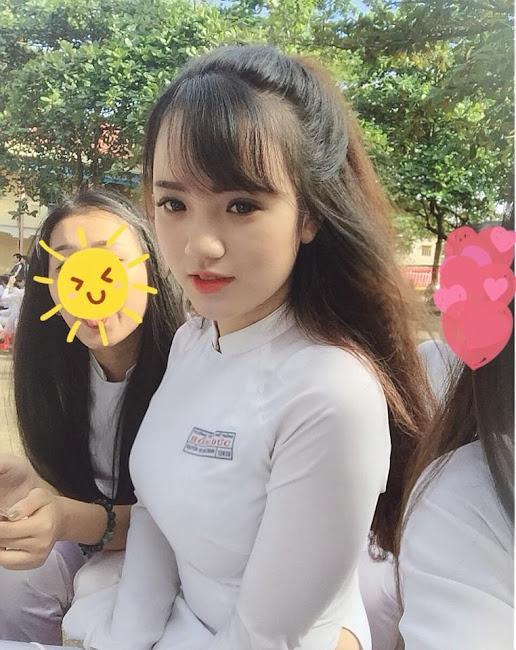 Nguyễn Thị Ngọc Khánh Hot Girl Áo Dài Đắk Lắk Kèm Link FaceBook
