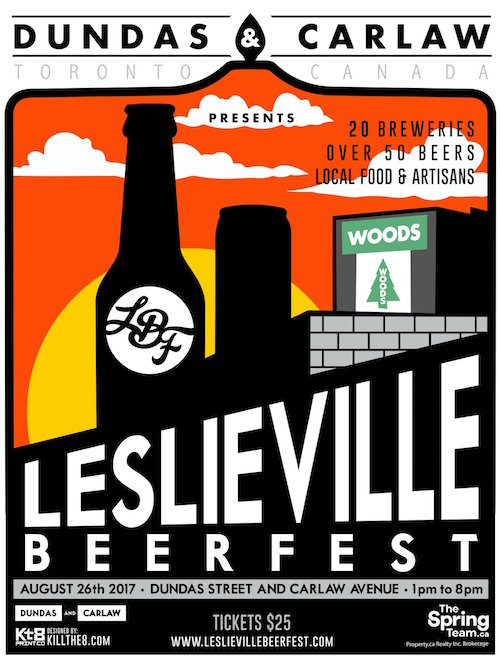 Leslieville Beerfest @ Dundas & Carlaw, Saturday