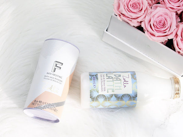 Zoella Beauty Bath Latte & Bath Frosting
