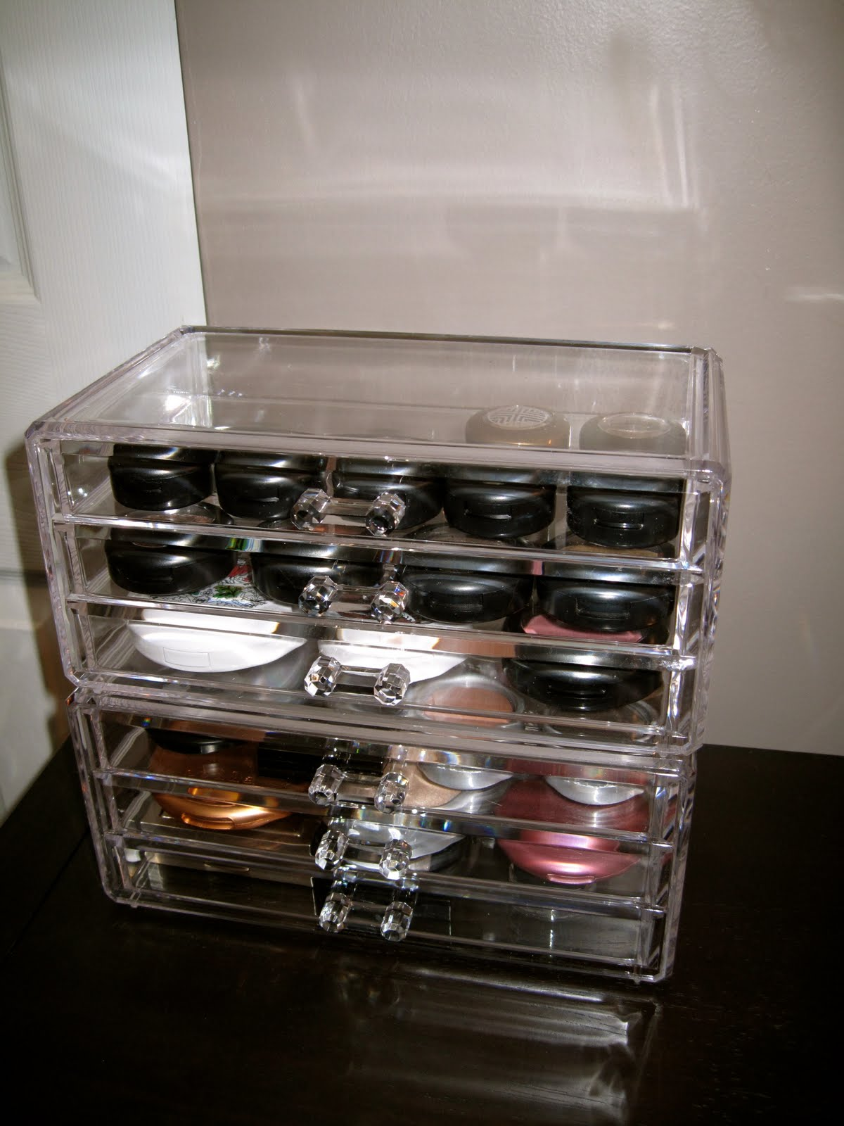 Makeup Storage Containers From Sassi Who Lived It Makeup And Accessory