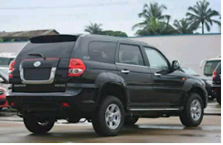 The New IVM SUG V6 : Made In Nigeria Car