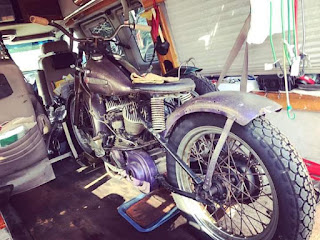 For Sale:1941 WLD with rare HD K model front end