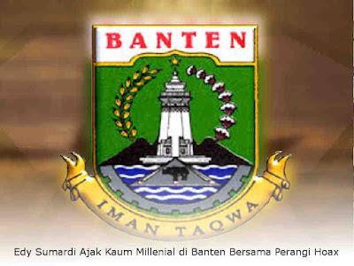 Edy Sumardi Ajak Kaum Millenial di Banten Bersama Perangi Hoax