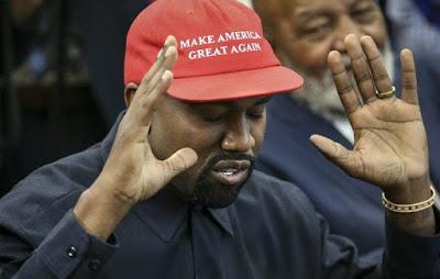Kanye West admite a eleição presidencial de 2020, mas confirma a disputa de 2024