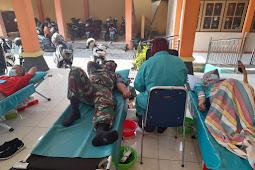 Partisipasi Koramil Ngawen Dalam Aksi Donor Darah Sukarela di Kecamatan Ngawen