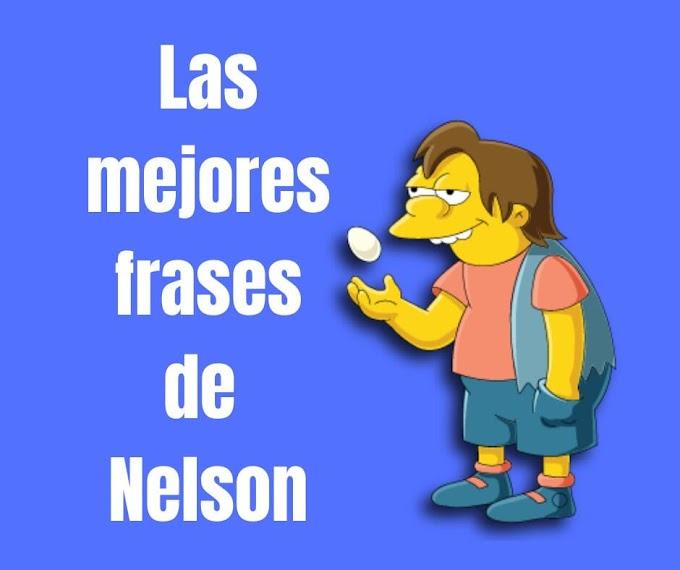 Las mejores Frases de Nelson Muntz