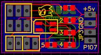 Region mod circuit board design