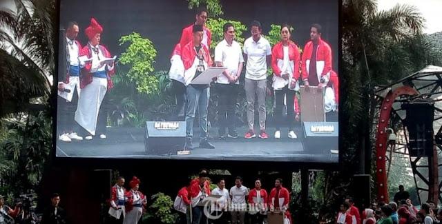 Milenial Jokowi dan Prabowo Sepakat Akhiri Rivalitas dan Serukan Peran Penting Kaum Muda Profesional