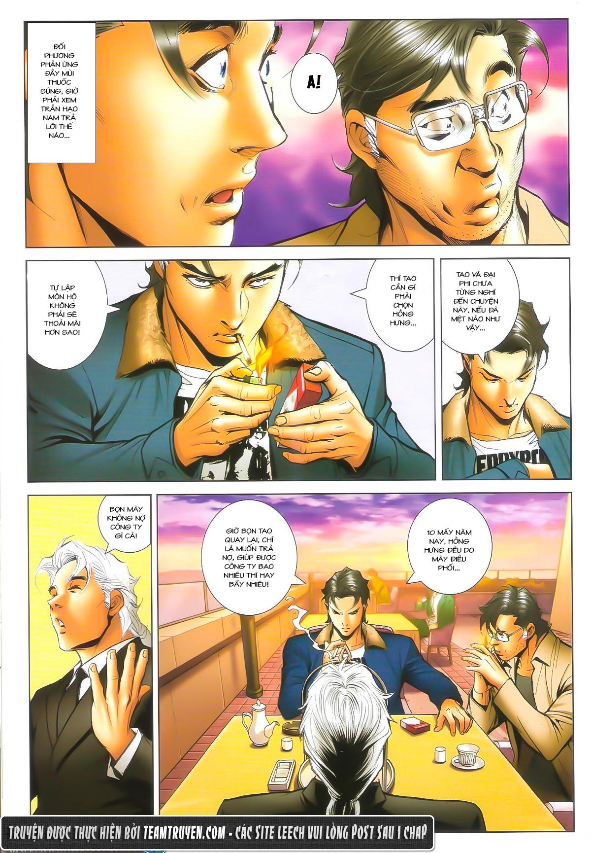 Người Trong Giang Hồ chapter 1602: gặp lại hàn tân trang 10