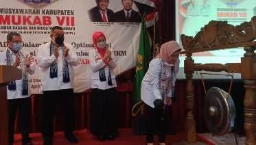 Bupati Nina Agustina Ajak Kadin Selamatkan UMKM Ditengah Pandemi Covid