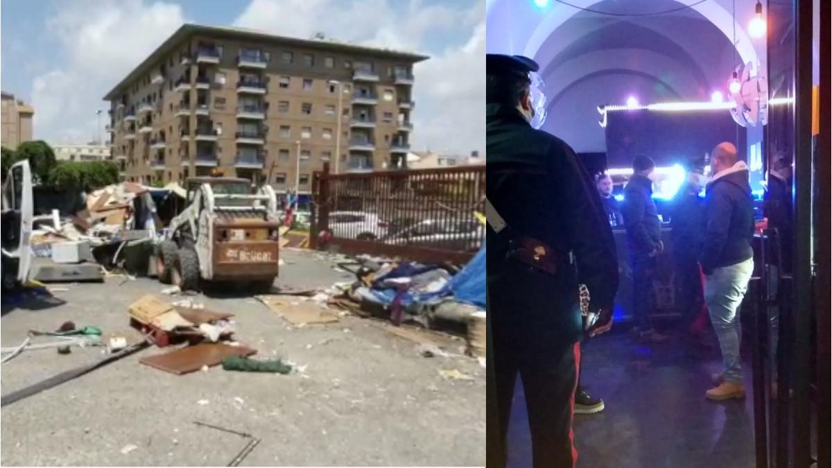 controlli anti Covid Polizia Municipale