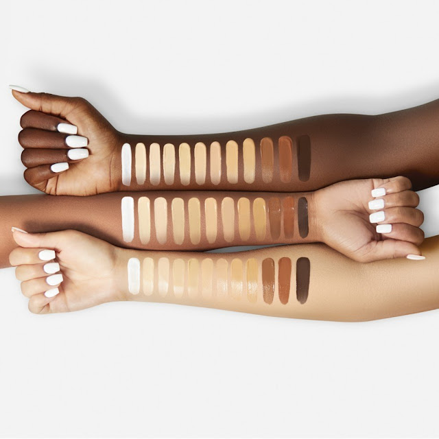 Find your foundation colour in different brands # 1 (for MAC's NC 40