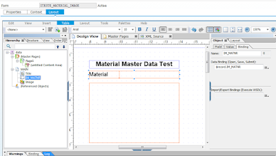 SAP ABAP Central: Getting an image from material master data and