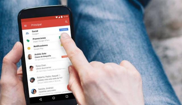 Cara Mengganti Tema Aplikasi Gmail Menjadi Gelap atau Terang