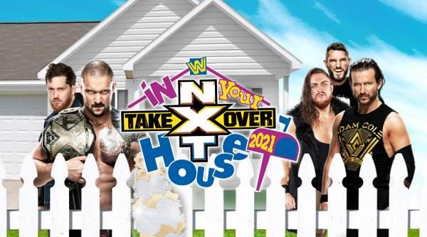 عرض NXT تيك أوفر ان يور هاوس 2021 (TakeOver In Your House) كامل