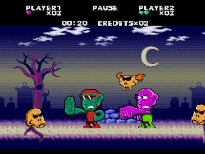 Irmãos Aratu. Mega Drive