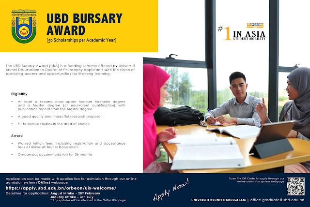 The UBD Bursary Award (UBD)