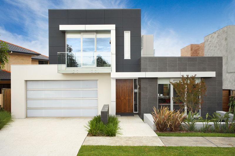 fachada de casas bonitas y modernas fachadadecasasmodernas - Fachadas Modernas De Casas