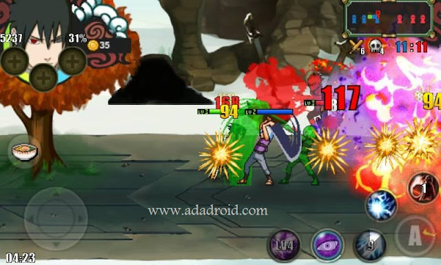 Download Naruto Senki Mod Ultimate Shinobi War v2 by Tegar Ali Apk