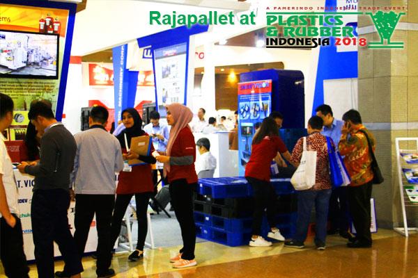 rajapallet di pameran plaspak 2018