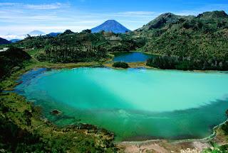 Dongeng basa sunda talaga warna, gunung geulis sareung situ bagendit