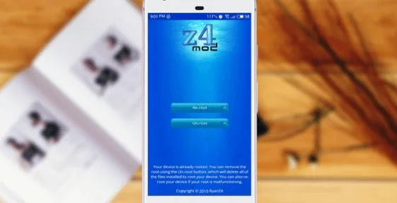 صورة تطبيق Z4ROOT