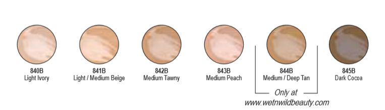 wet n wild photofocus concealer shades