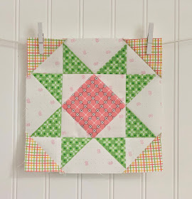Vintage Block Along - Week 32 - September Star!!