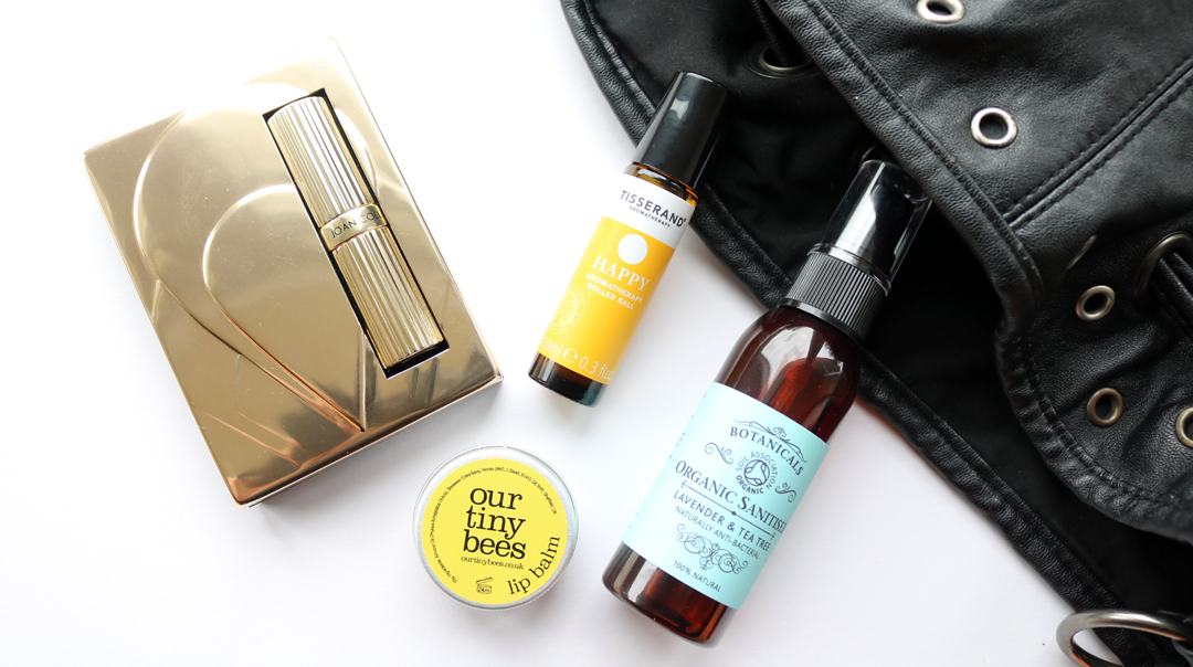 Decluttering My Handbag: Minimalist Beauty Essentials