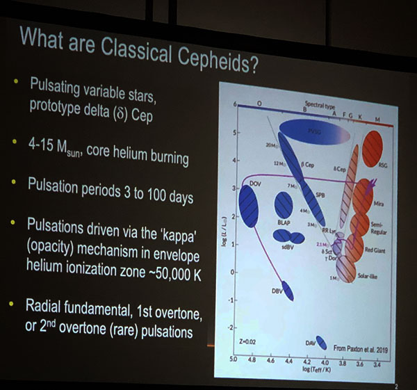 What are classical Cepheid variables by Richard Anderson, ESO (Source: 108th AAVSO meeting)