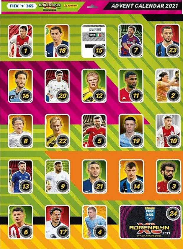 Fifa Calendar 2021 Football Cartophilic Info Exchange: Panini   Adrenalyn XL FIFA 365