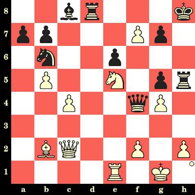 Les Blancs jouent et matent en 4 coups - Friedrich Saemisch vs O Menzinger, Marktoberdorf, 1953