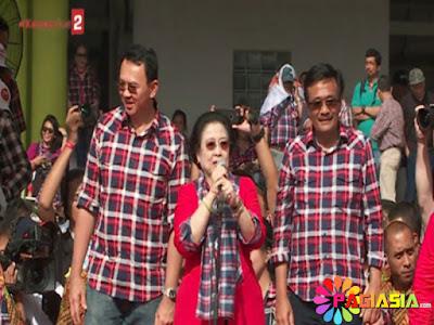 Megawati Yakin Kita Pasti Menang Pada Saat #KonserGue2 Ahok-Djarot