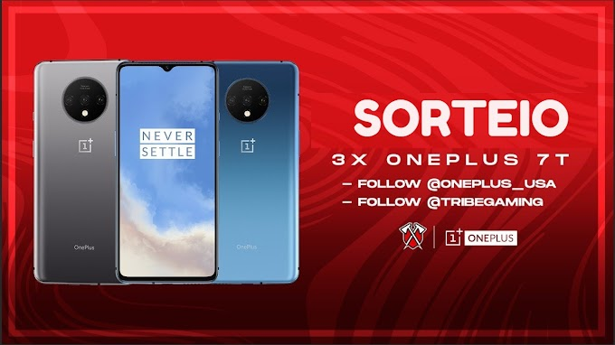 SORTEIO DE TRÊS Smartphones OnePlus 7T - PARTÍCIPE